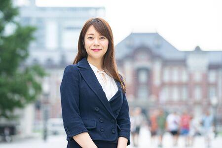 Businesswoman at work Standard-Bild - 134830903