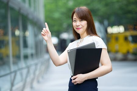 Businesswoman with