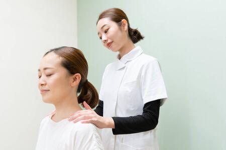 Orthopedic, massage, shoulder trouble