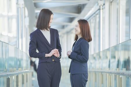 BusinessWoman Chatting