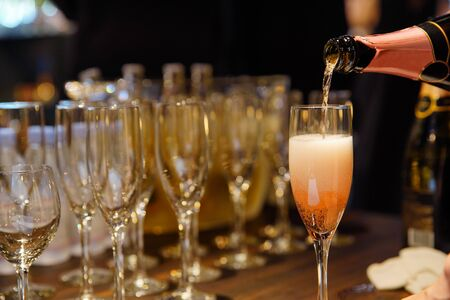 Image of the party champagne