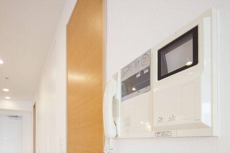 Condominium intercom 写真素材