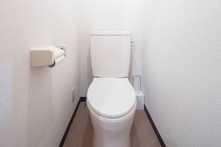 Bathroom with water closet