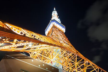 Tokyo Tower summer version of the light-up