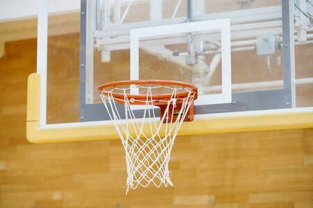 Basketball goal ring Reklamní fotografie