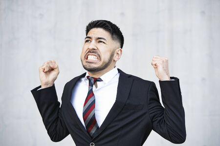 Businessmen who regret