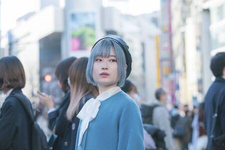 Portrait of Shibuya Center Street