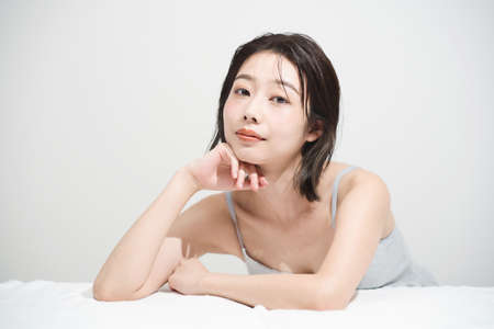 Beauty image of Japanese young woman