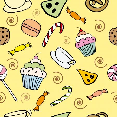 Candy pattern Illustration