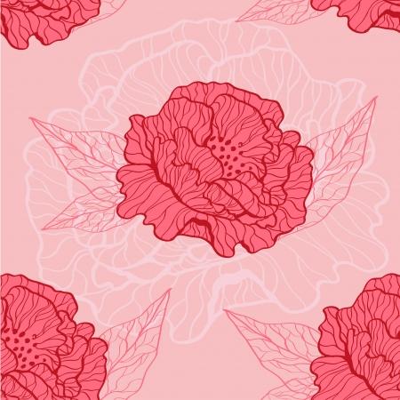 poppy pattern Stock Vector - 20143145