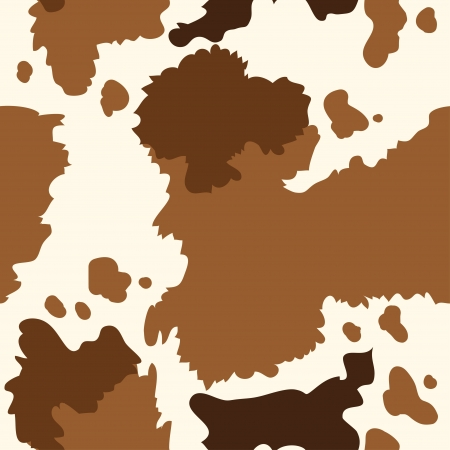 Seamless texture of  cow skin