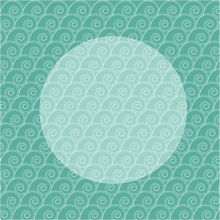 mint backgrounds with seashells
