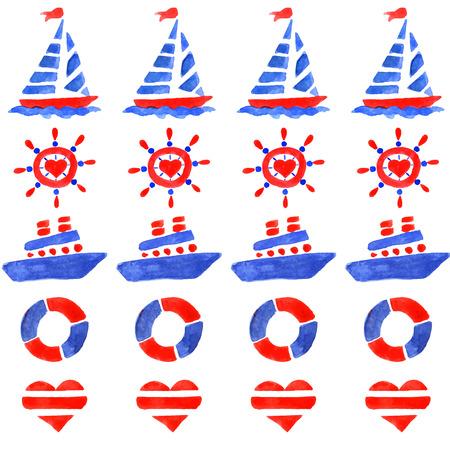 해양 속성과 패턴