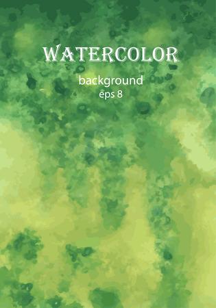 sfondo acquerello: scuro acquerello sfondo verde
