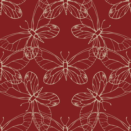 entomological: Butterfly pattern Illustration