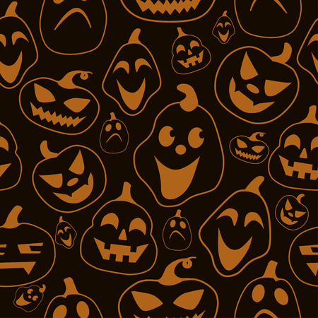 halloween pattern: Halloween pattern with pattern