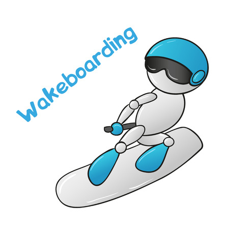 grab: Wakeboarder robot