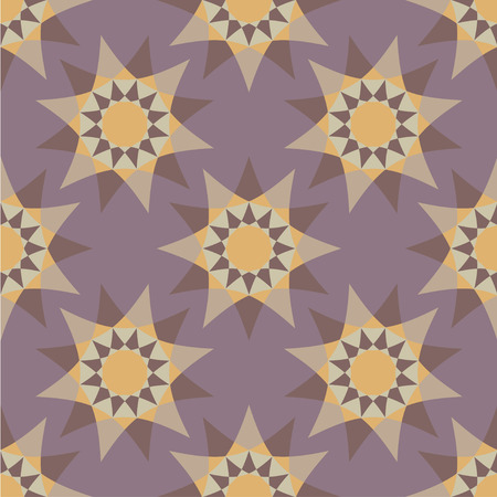Seamless texture with geometric ornament, Illustration