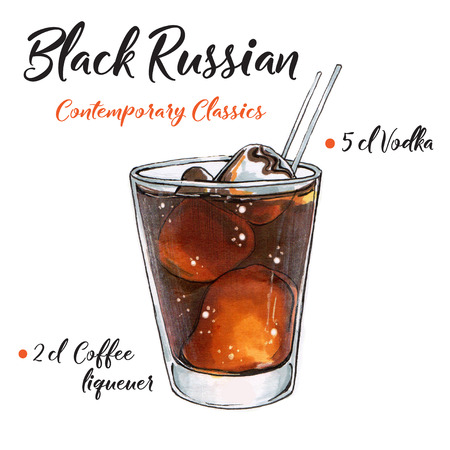 BLACK RUSSIAN Contemporary Classics drink