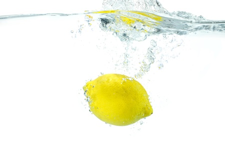 undulation: The lemon which jumps into water