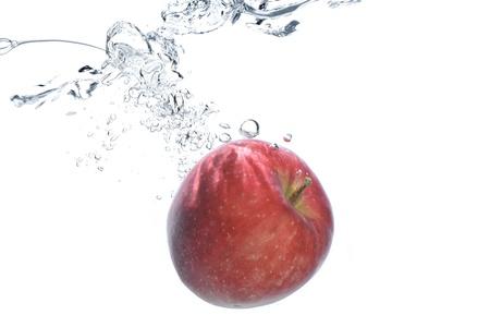 undulation: Underwater apple