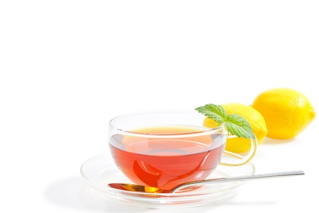Herb tea photo