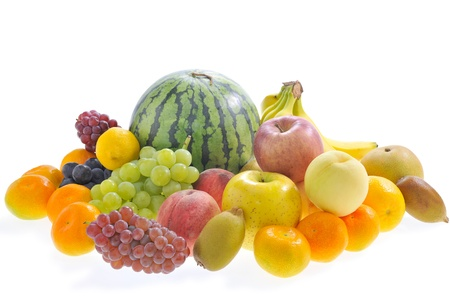 assemblage: Assortment of the fruit