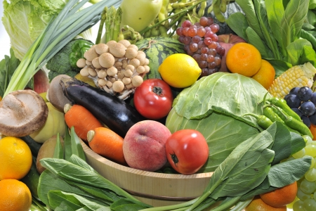 Assortment of the vegetables