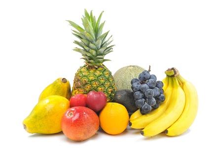 fruta tropical: Frutas tropicales Juicy