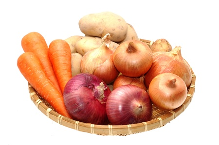 Root vegetables photo
