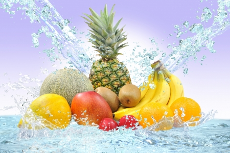 Tropical fruits Stock Photo - 16445347