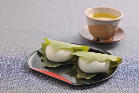 rice cake: Oak leaf rice cake
