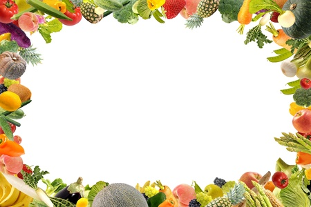 신선한 야채와 과일