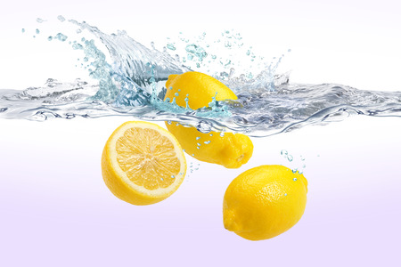 Lemon in the water