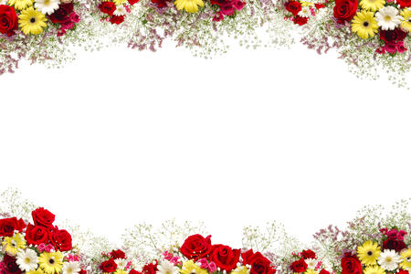 Flower Frame Stock Photos. Royalty Free Flower Frame Images