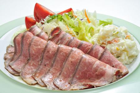 roast: roast beef
