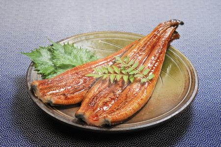 Anguille grillée Banque d'images
