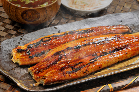 baked: Baked eel