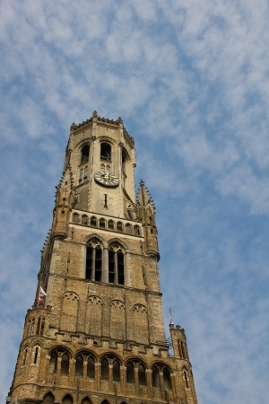 belfort: Belfort Tower in  Bruges - Belgium
