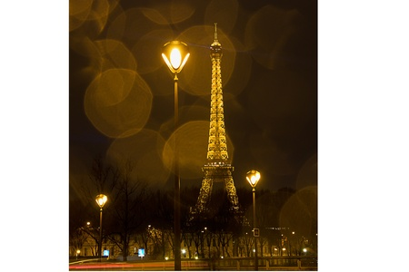 Eiffel Tower - view from Pont dAlma