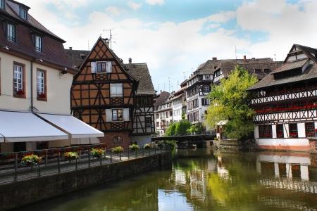 Idillyc town of Strasbourg