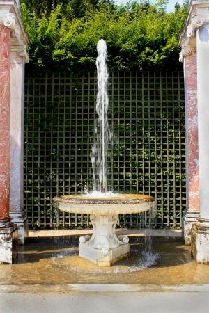Fountain in the Versailles Gardens