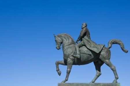 King Carol I on horse statue - Bucharest