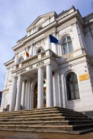Art Gallery Museum - Pitesti Arges Romania Editorial