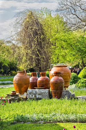 Cismigiu park in Bucharest Romania