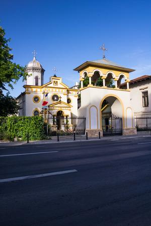 Sfantul Vasile cel Mare church in Bucharest city center, on Calea Victoriei street