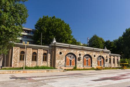 aquarium visit: Public Aquarium building in Constanta Romania near the Black Sea Editorial