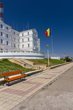 terminus: Terminus or Carol hotel in Constanta is now the romanian navy headquarter near the Black Sea
