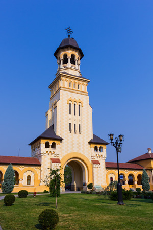 Alba Iulia coronation cathedral, dedicated to the Holy Trinity was built with the support of the Royal House of Romania