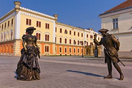 Historical city center of Alba Iulia, Transylvania, Romania Editorial